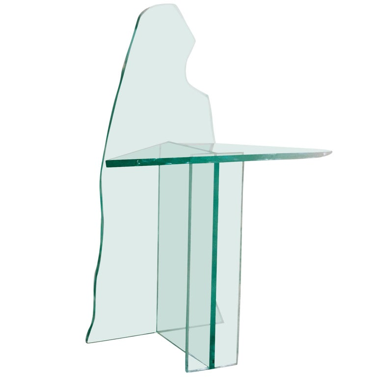Glass Chair 2 by Guillermo Santoma For Sale