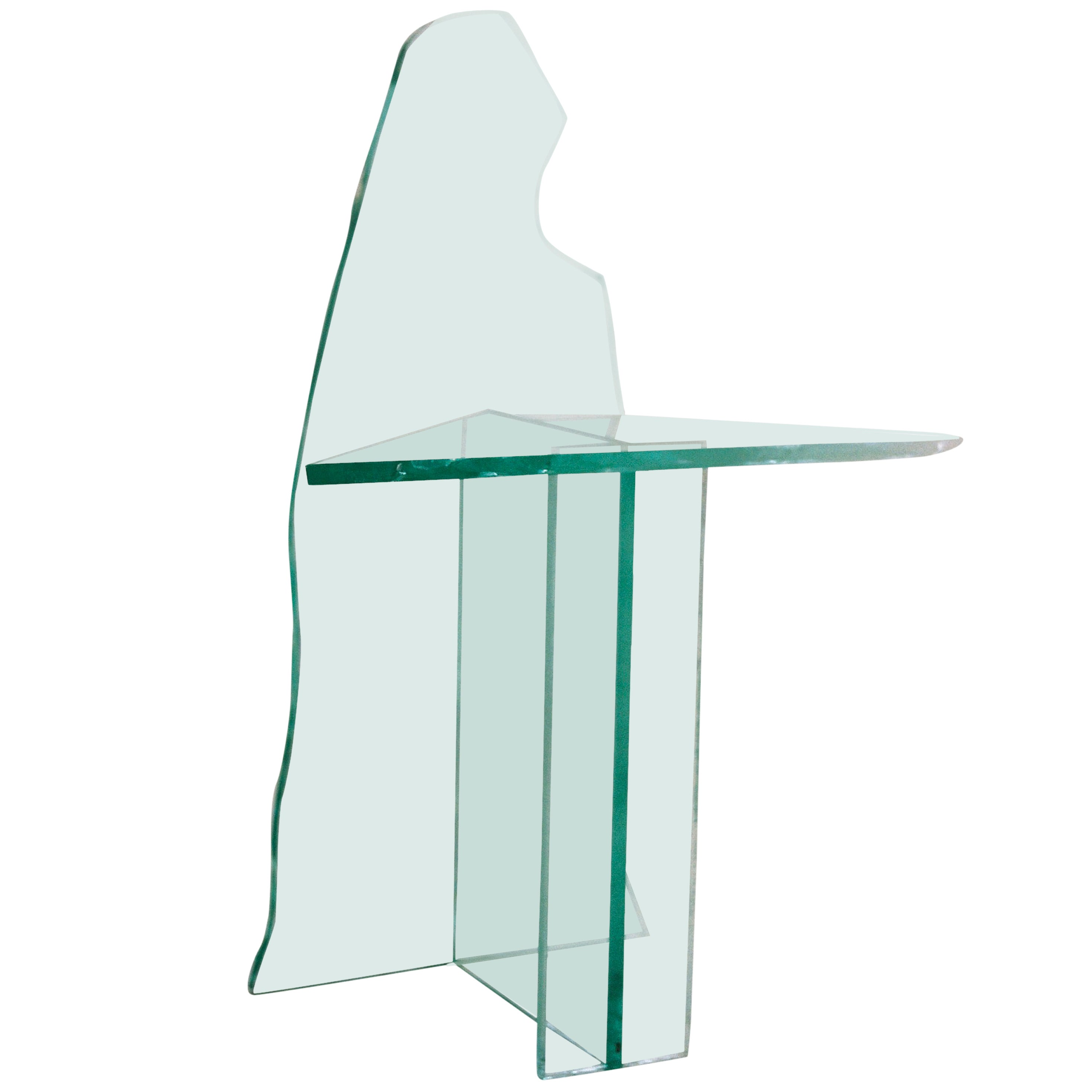 Glass Chair 2 by Guillermo Santoma