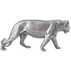 Panther-Skulptur, Art-Déco, Frankreich, 1935