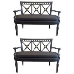 Pair of Louis XIV Style Sofas