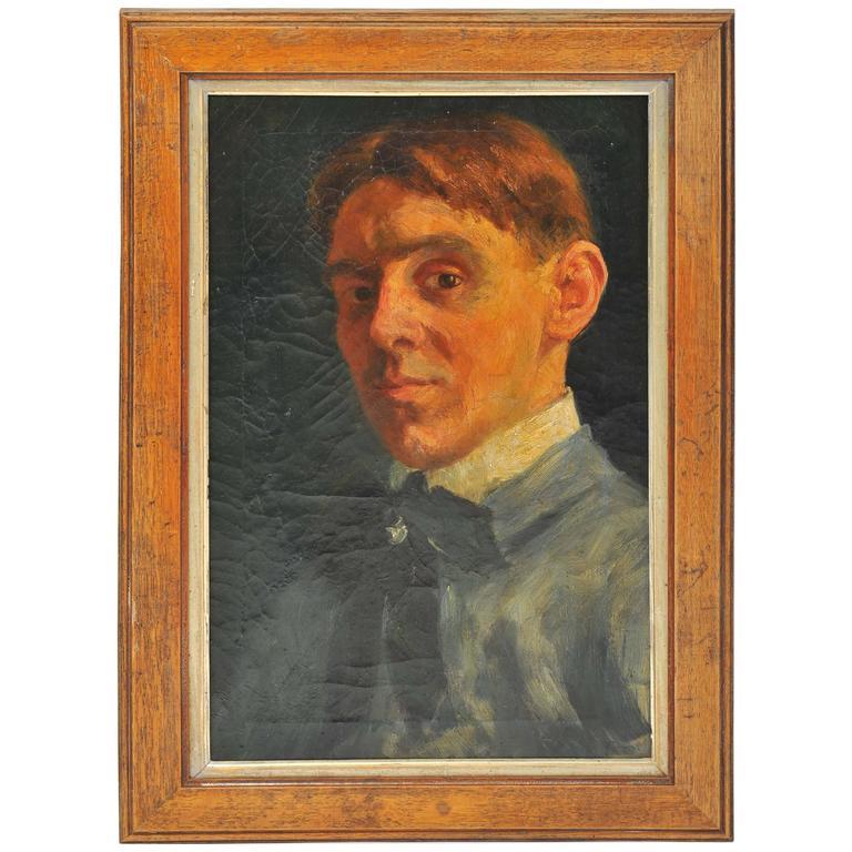 Early 19th Century Self Portrait of a Dutch Artist 1