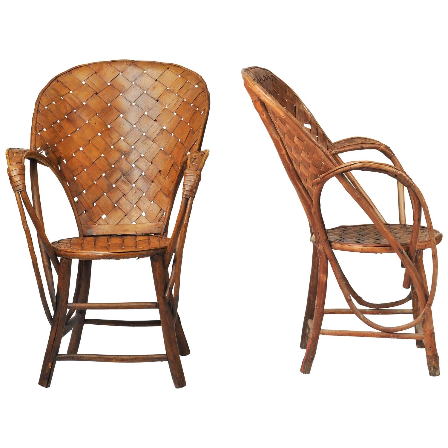 Pair of Garden Chairs by Charlotte Perriand For Sale at 1stdibs