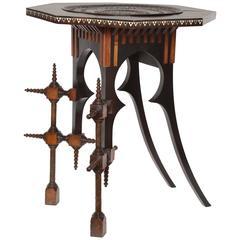 Carl Bugatti Octagonal Occasional Table, 1898