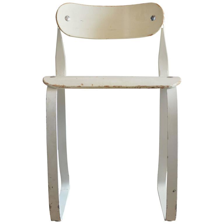 "Herman Sperlich ""Health Chair"" for Ironrite Corporation, 1938 For Sale"