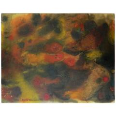 20th Century Abstract Painting by Anita Weschler