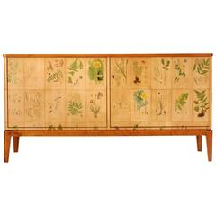 Cabinet with Flora Decor from C.A. Lindman's Nordens Flora