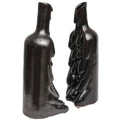 American Modern Ceramic Vase/Sculpture, Daric Harvie