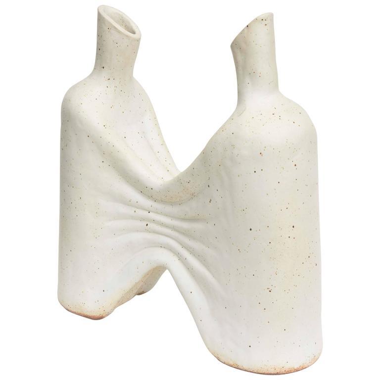 American Modern Ceramic Vase/ Sculpture, Daric Harvie