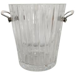 1980s Baccarat Crystal Champagne Bucket