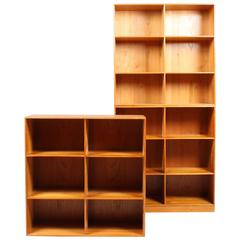 Three Bookcases by Mogens Koch