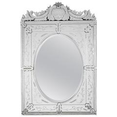 Large Venetian Square Mirror