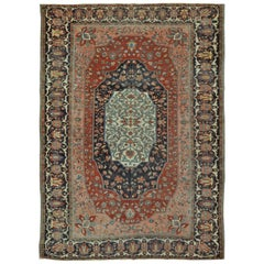 Room Size Antique Persian Sarouk Farahan