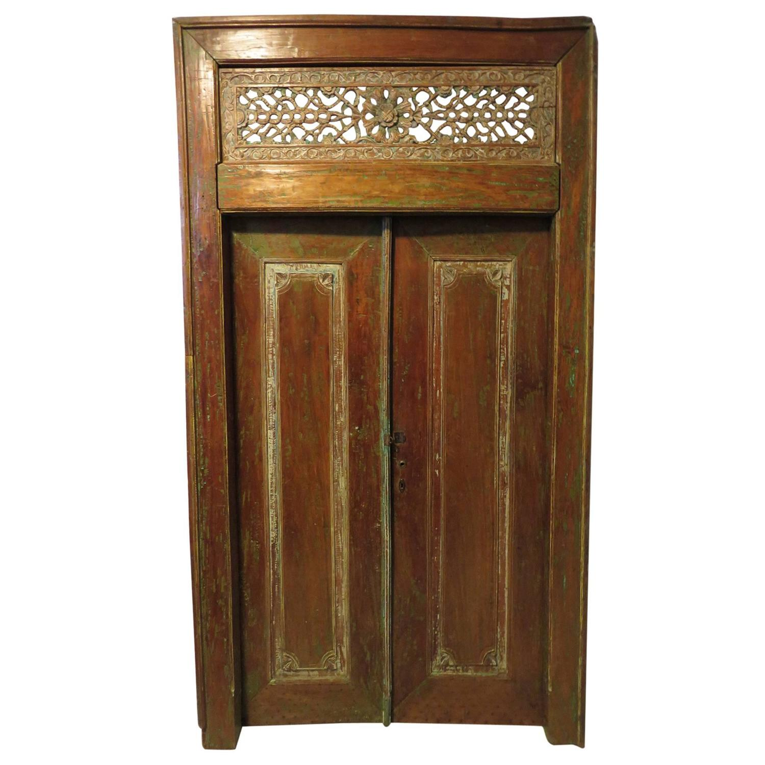 Antique double doors beautifully patinated for sale at 1stdibs for Double doors for sale