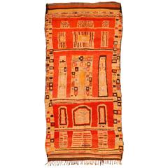 Vintage Boujad Berber Carpet
