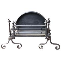 19th Century English Fireplace Grate or Fire Grate
