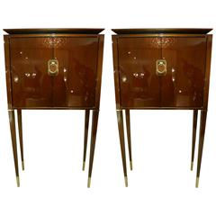 Pair of Cabinets in Style of 1940 by Frederic DAD