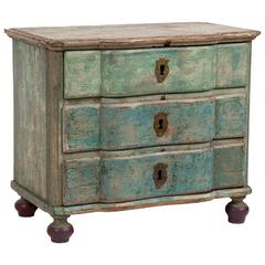 Mini Louis XV Painted Chest of Drawers