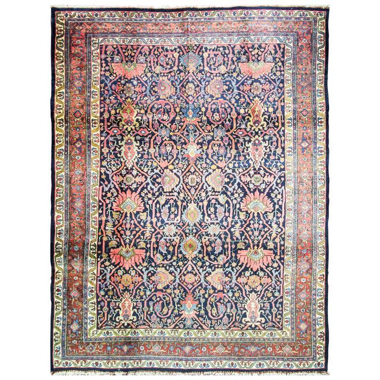 Magnificent Antique Bidjar Carpet