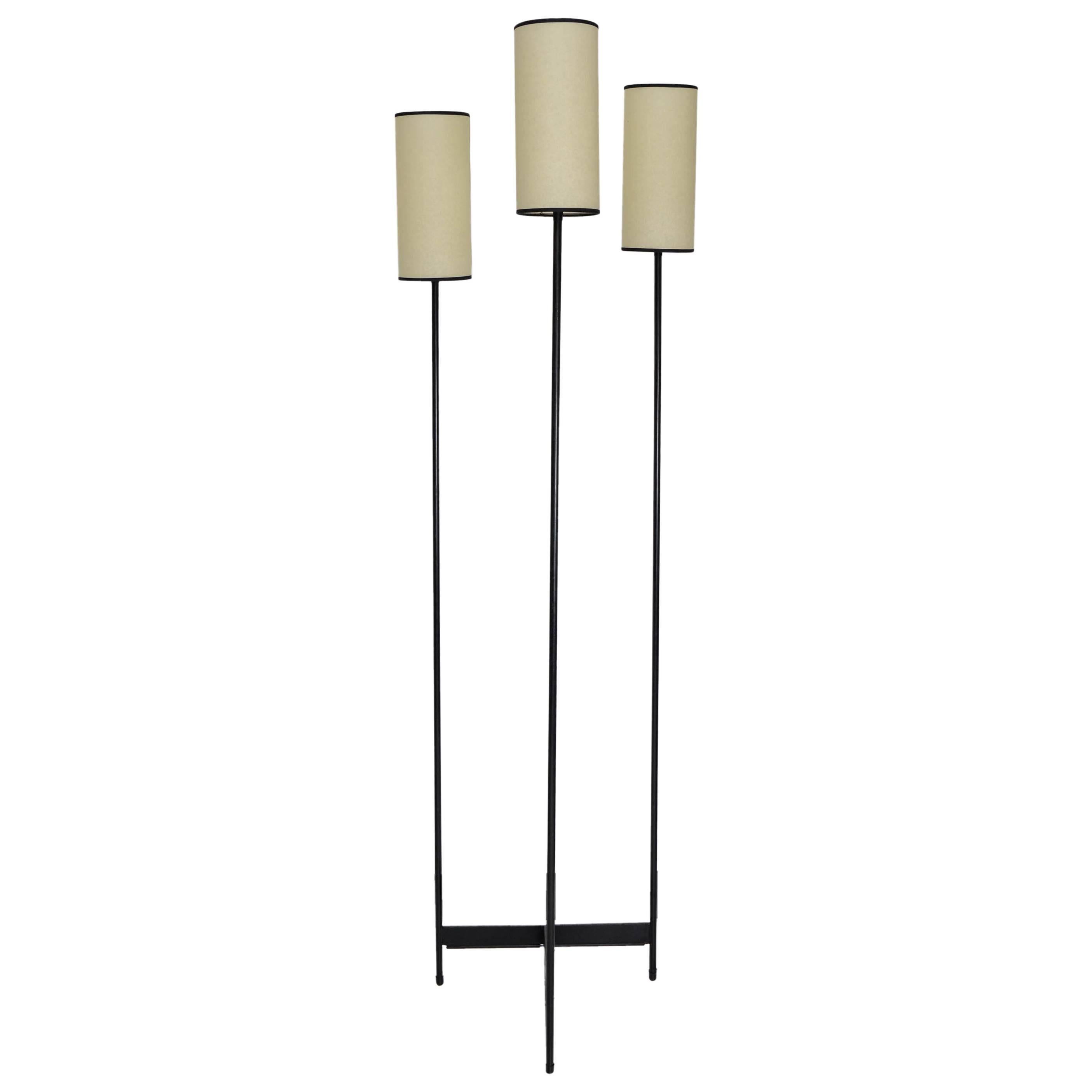 Floor Lamp by Lunel, circa 1950