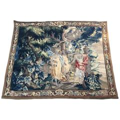 Aubusson Tapestry, French, 18th Century