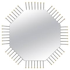Mother Board Mirror in Octagon by Collection Particulière