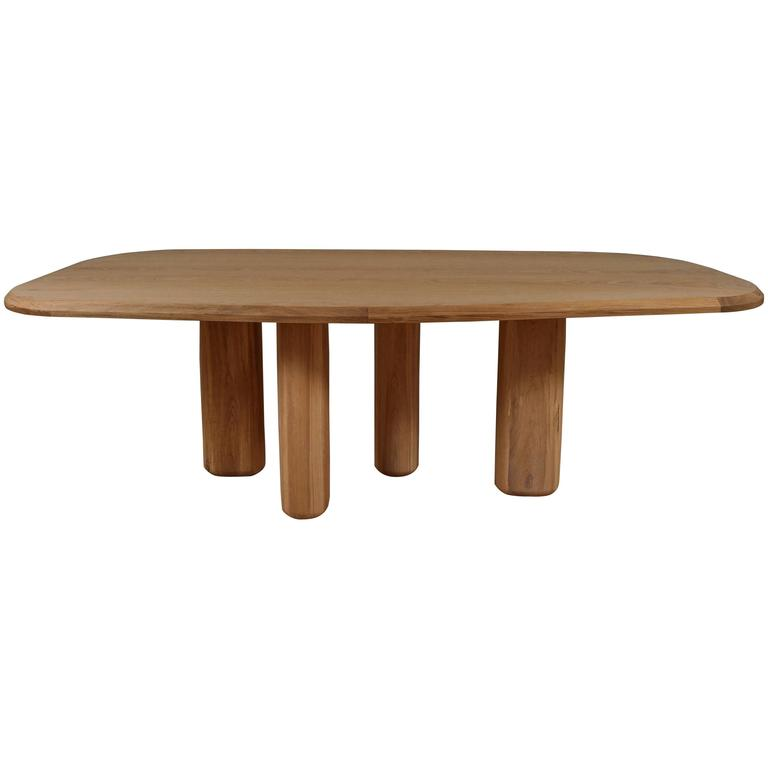 Rough Dining Table by Sam Accocceberry. for Collection Particulière