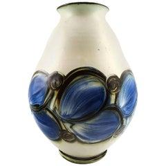 Kähler, HAK, Glazed Stoneware Vase, 1930s