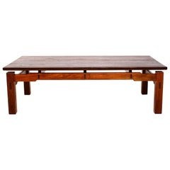 MId Century Modern Studio Solid Teak Coffee Table