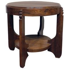 Fine Quality Amsterdam Modernism Side Table, circa 1910