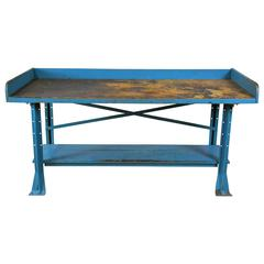 1940 Industrial Work Table