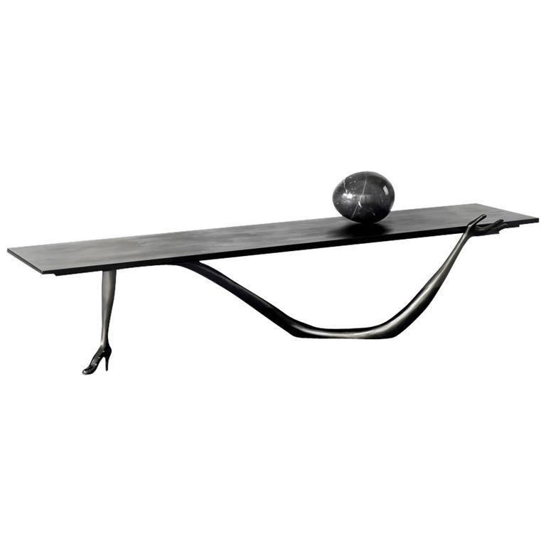 Leda Low Table Sculpture after Salvador Dali, Fundació Gala-Salvador Dali