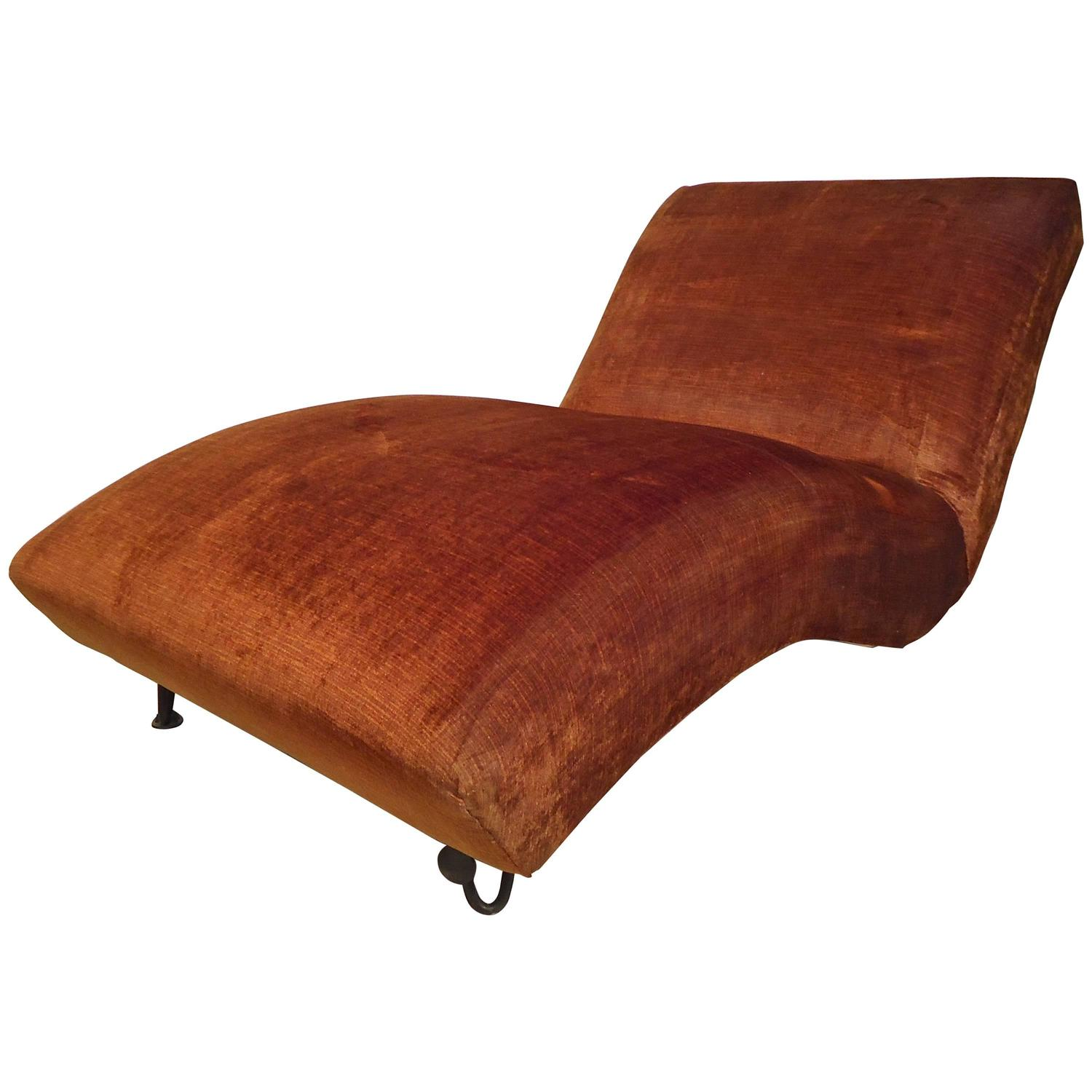 Vintage chaise longue for sale at 1stdibs for Antique chaise longue for sale