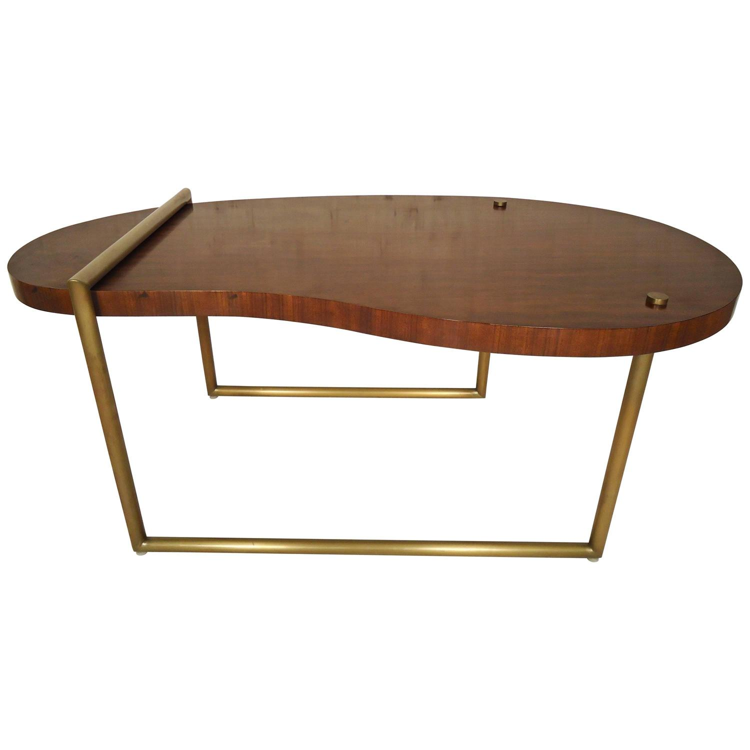Kidney Coffee Table By Jonathan Charles At 1stdibs