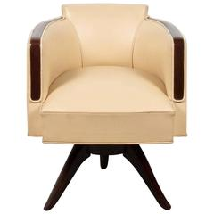 Very Chic Art Deco Style Armchair or Desk Chair
