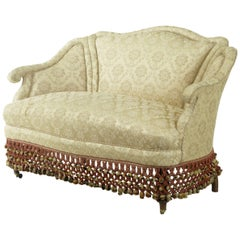 1920s Boudoire Small Sofa Settee