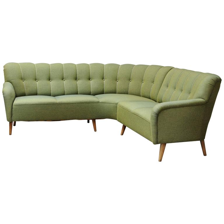 1940s Danish Sectional Sofa For Sale