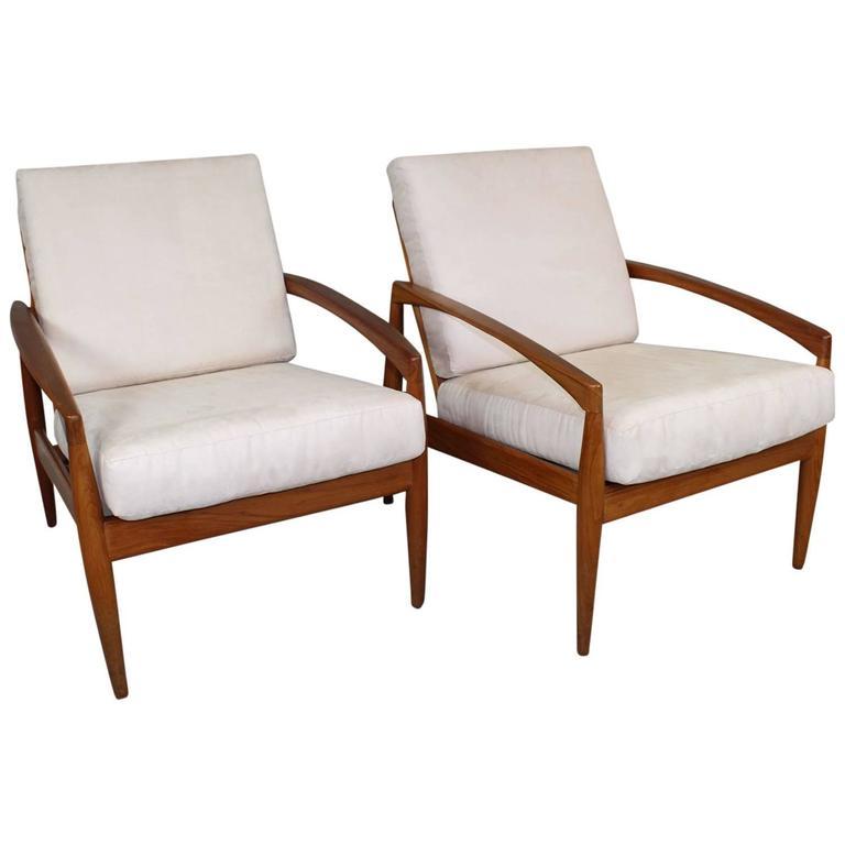 Pair of kai kristiansen lounge chair at 1stdibs - Kai kristiansen chair ...