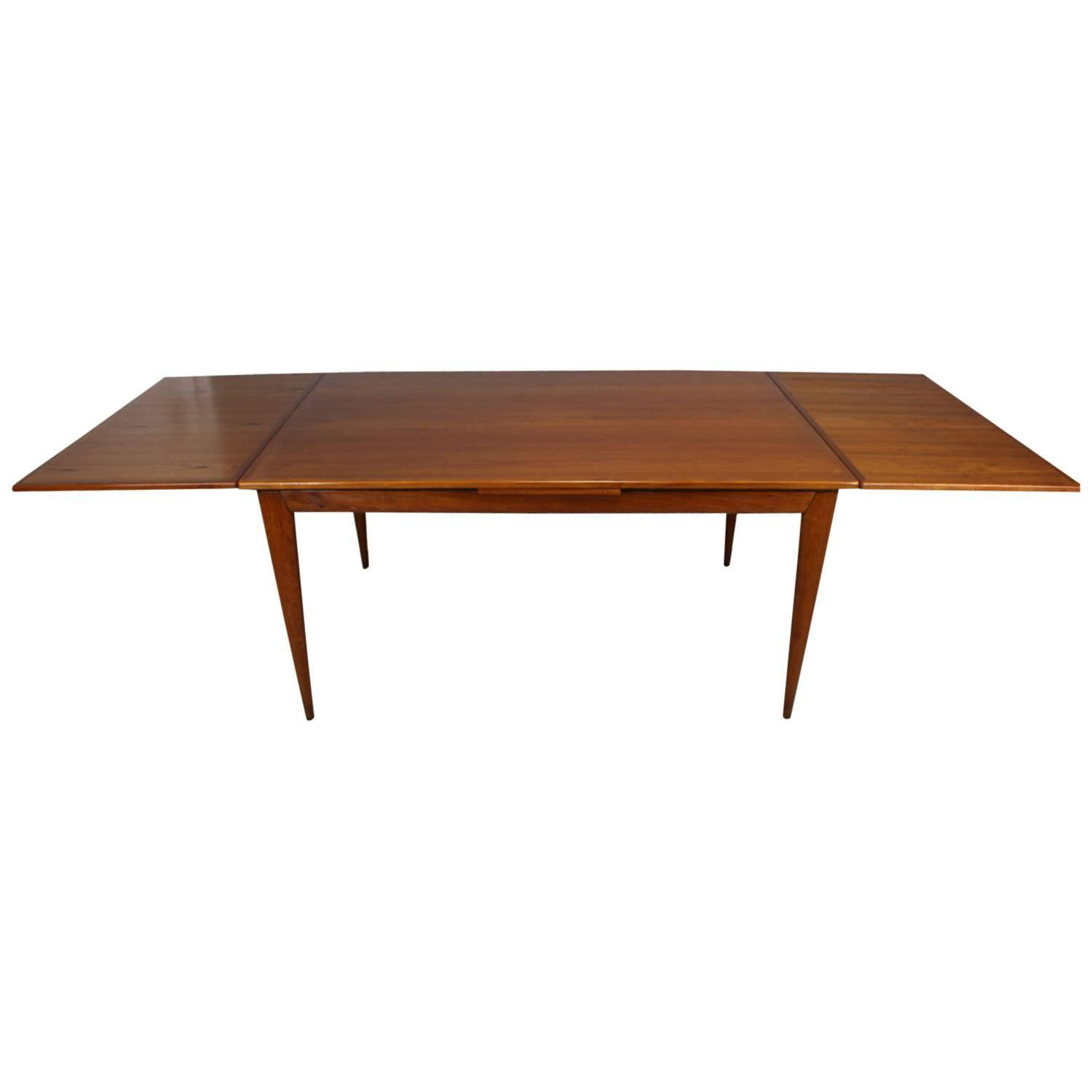 Niels Otto M ller Teak Extension Dining Table Model For Sale at