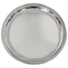 Sterling Silver Platter by Frantz Hingelberg