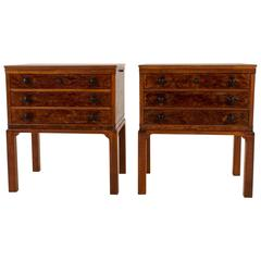 Magnificent and Rare Pair of Art Deco Cabinets by 't Woonhuys, Amsterdam