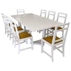 1940s Dining Room Table and Chairs