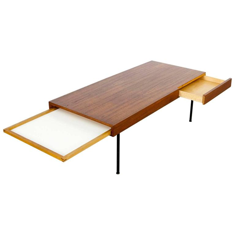 Teak Coffee Table 4652 By George Nelson Herman Miller At 1stdibs
