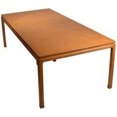 Mahogany Dining Table by Edward Wormley for Dunbar