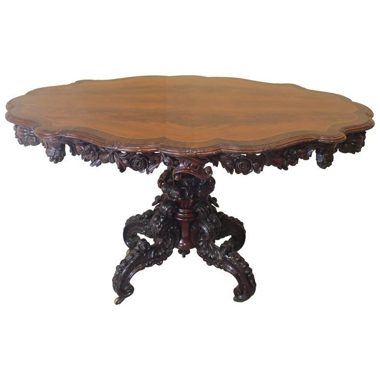 19th Century Center Table