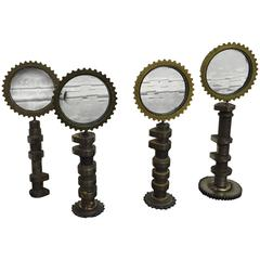 Set of Four Miniature Magiscope Sculptures by Feliciano Béjar