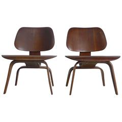 Eames LCW's, Early Production