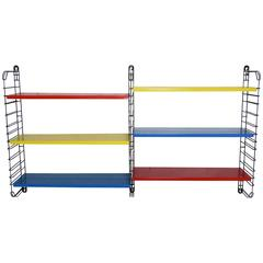 Multicolored Metal Rack by Adrian Dekker for Tomado, Netherlands, 1953