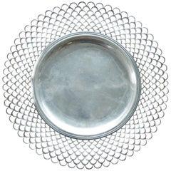 18th Century Italian Turin Sterling Silver Platter