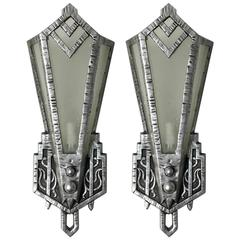 Pair of Art Deco Sconces