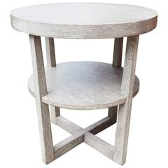 Reverse Ceruse Side Table